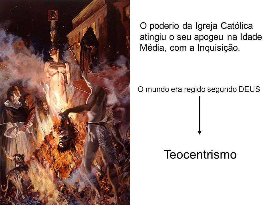 O poderio da Igreja Católica atingiu o seu apogeu na Idade Média, com a Inquisição.