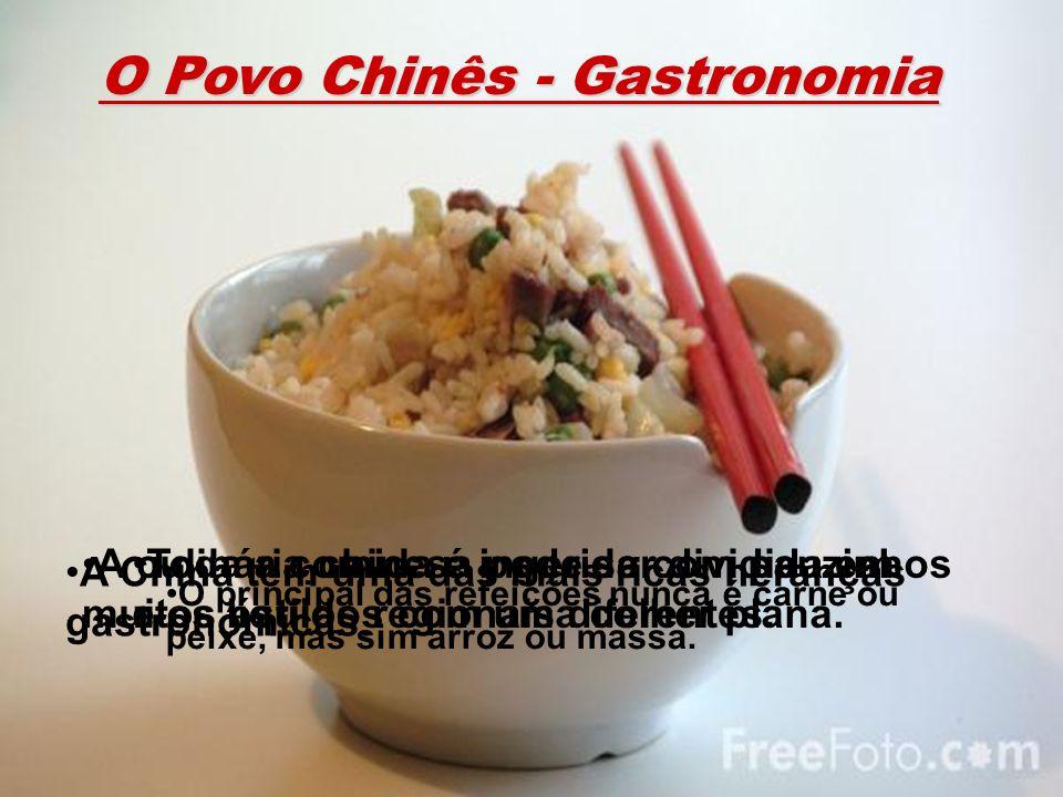 O Povo Chinês - Gastronomia