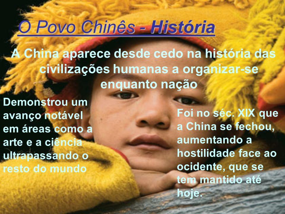 O Povo Chinês - História