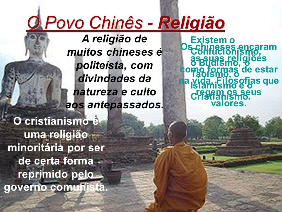 O Povo Chinês - Religião