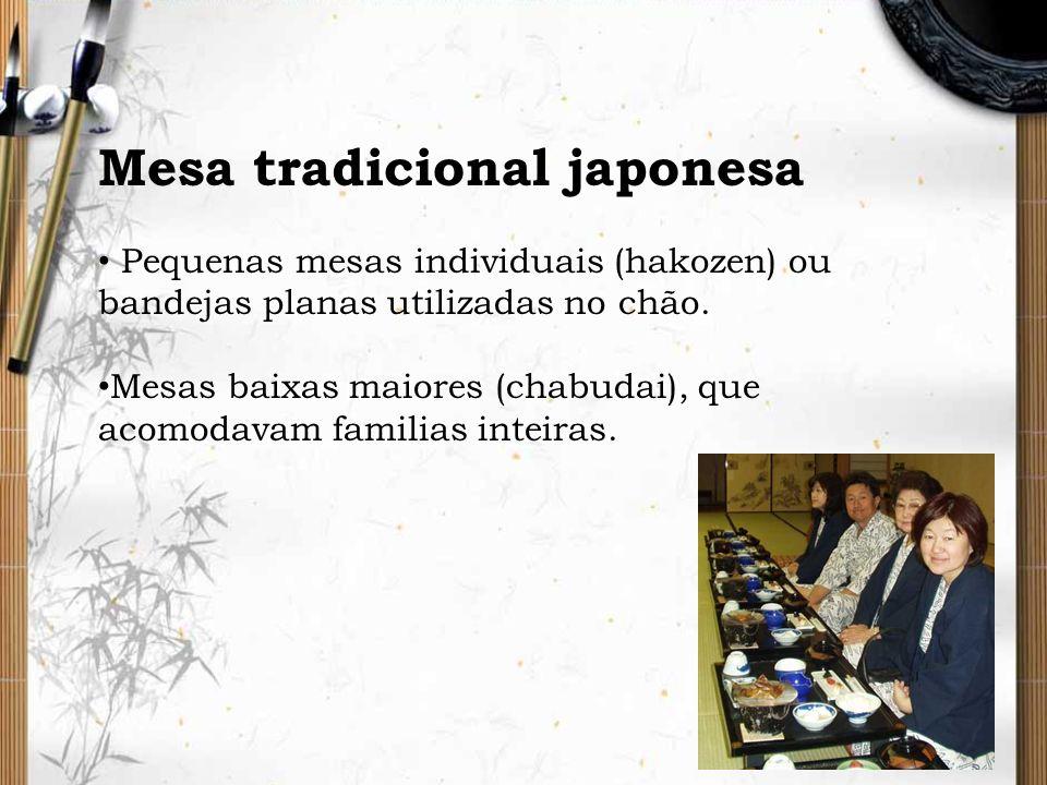 Mesa tradicional japonesa
