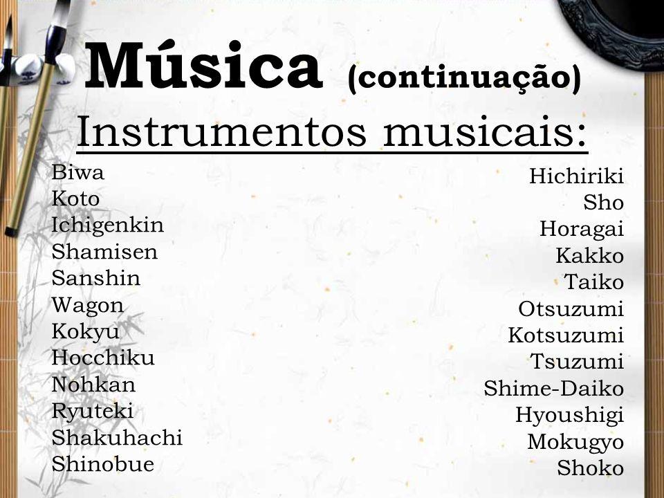 Instrumentos musicais: