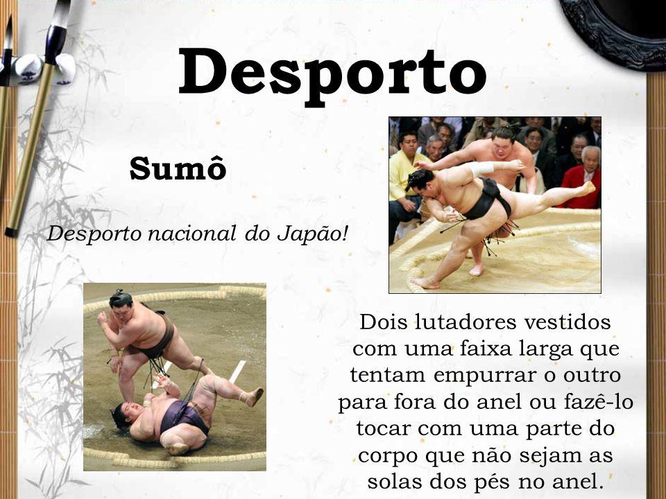 Desporto Sumô Desporto nacional do Japão!