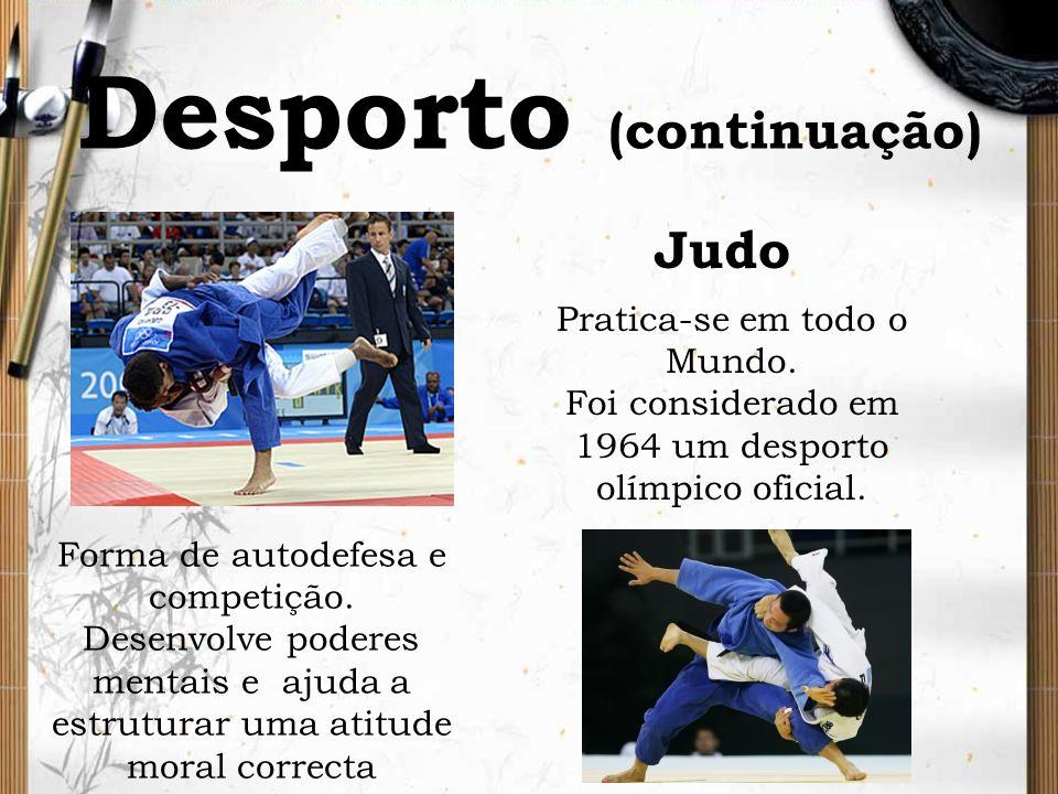 Desporto (continuação)