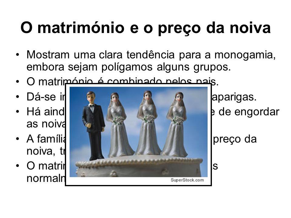 O matrimónio e o preço da noiva