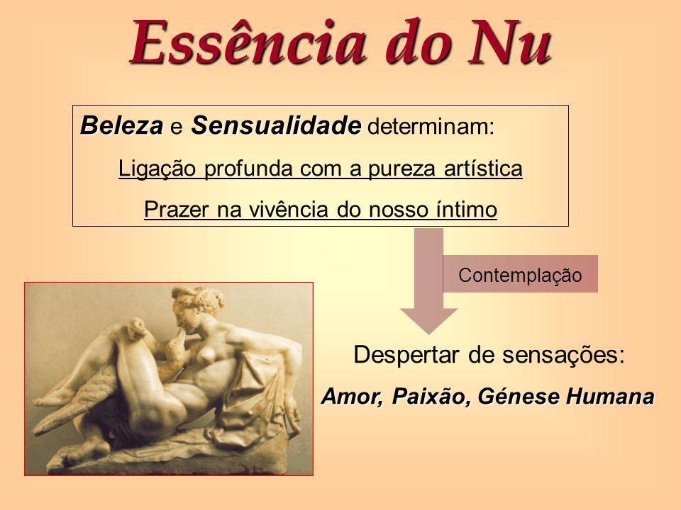 Essência do Nu Beleza e Sensualidade determinam: