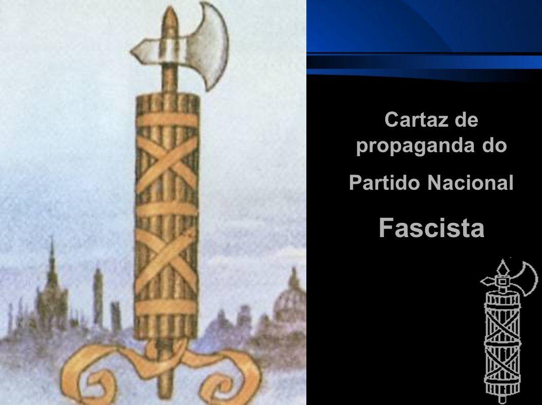 Cartaz de propaganda do