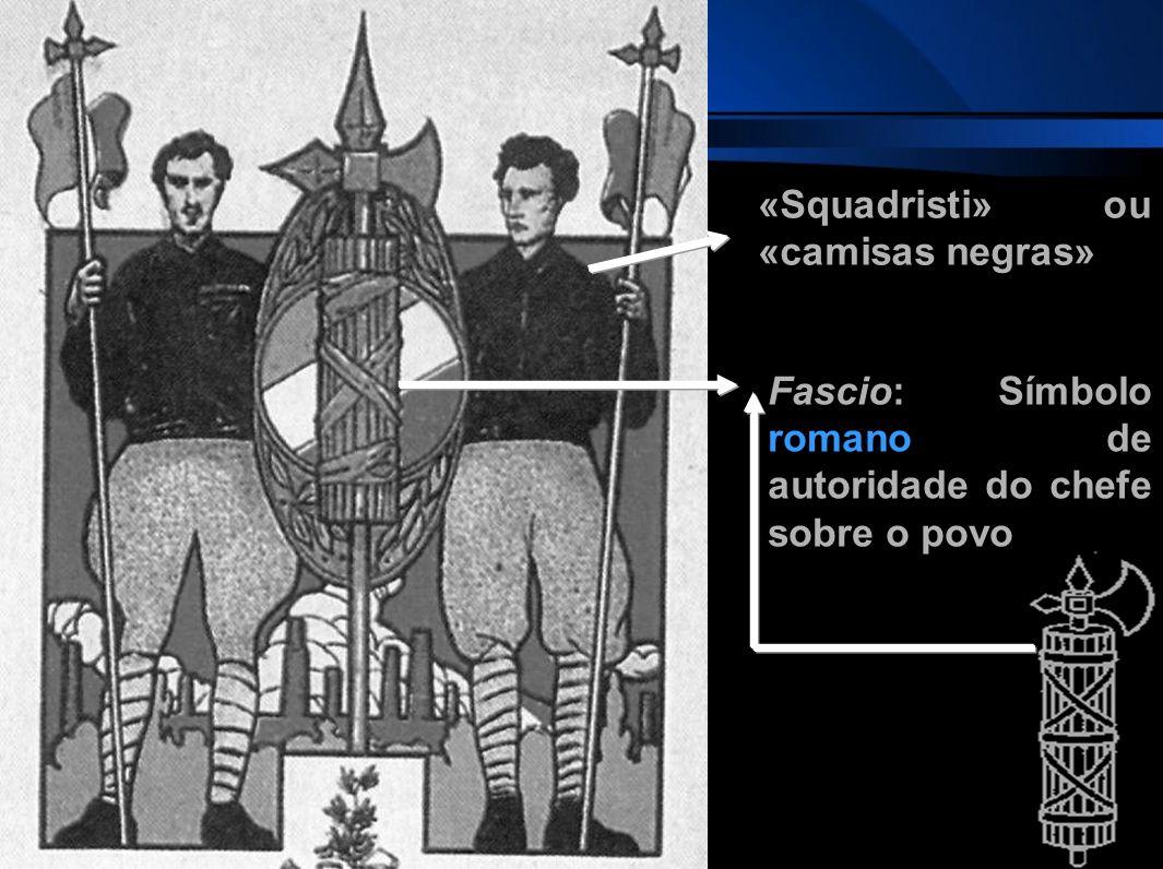 «Squadristi» ou «camisas negras»