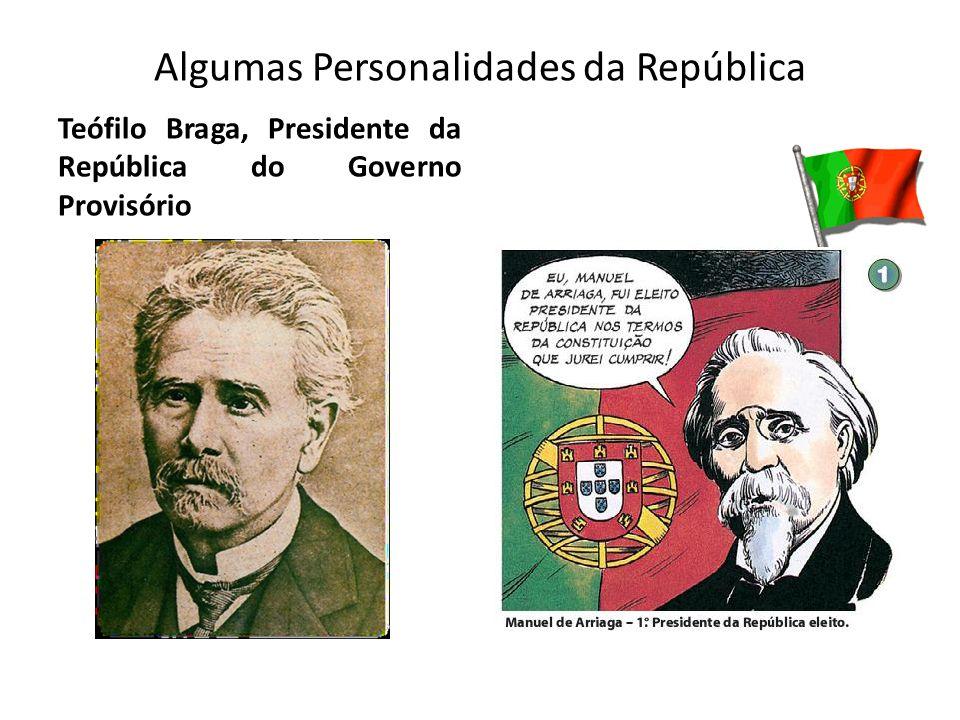 Algumas Personalidades da República