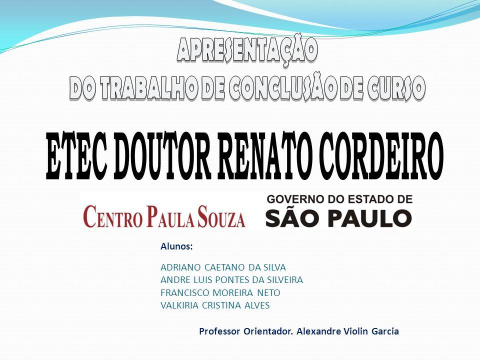 DO TRABALHO DE CONCLUSÃO DE CURSO ETEC DOUTOR RENATO CORDEIRO