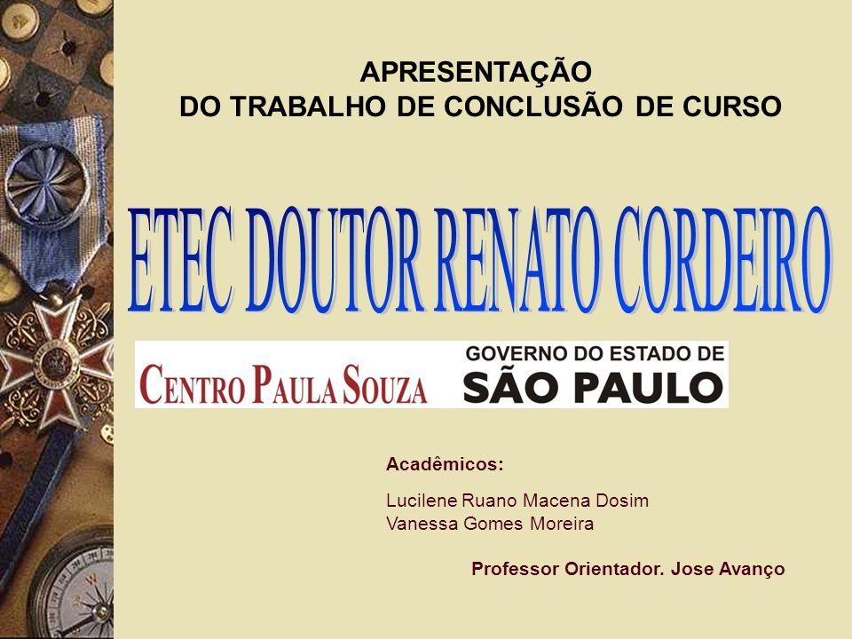 DO TRABALHO DE CONCLUSÃO DE CURSO