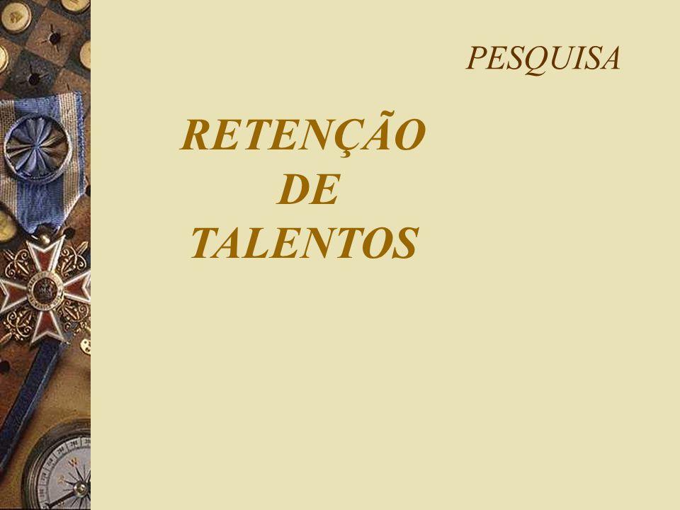 PESQUISA RETENÇÃO DE TALENTOS