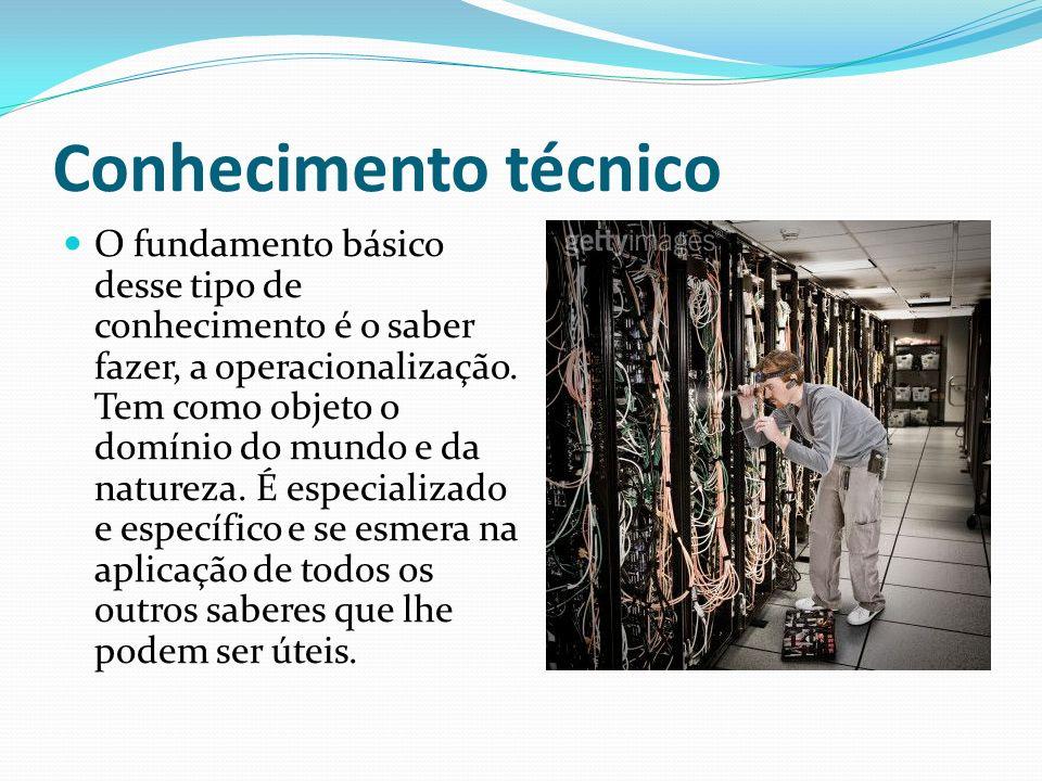 Conhecimento técnico