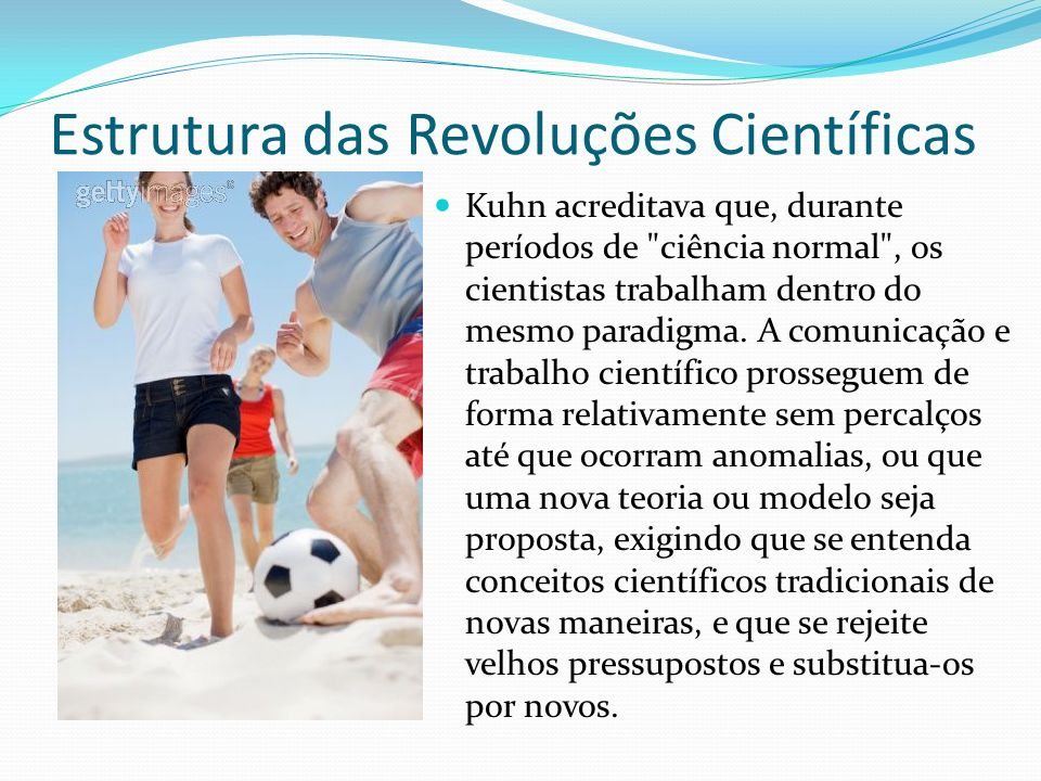 Estrutura das Revoluções Científicas