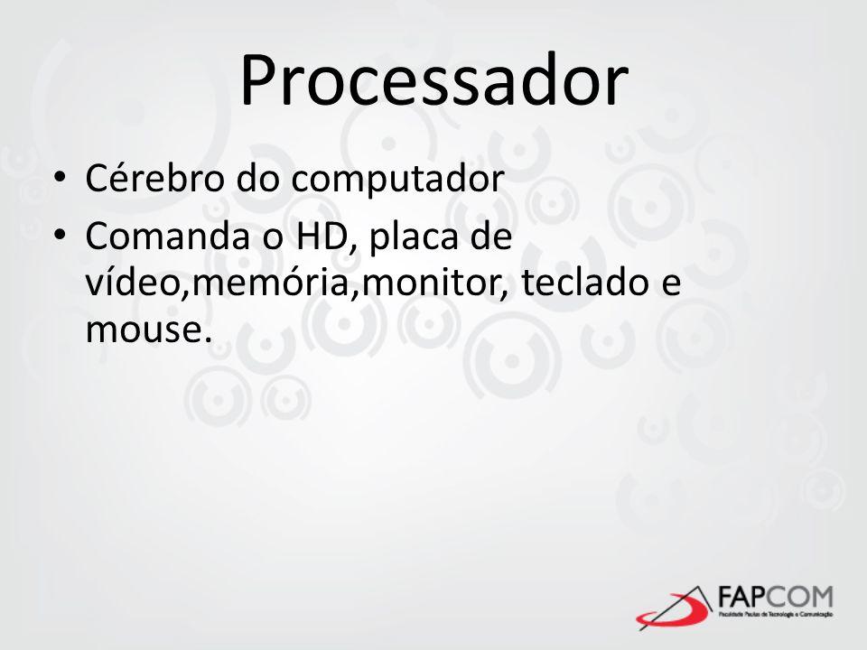 Processador Cérebro do computador