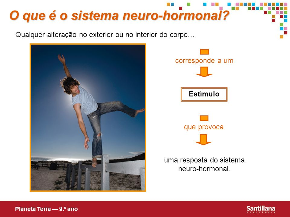 uma resposta do sistema neuro-hormonal.
