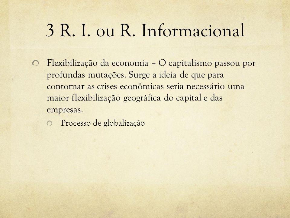 3 R. I. ou R. Informacional
