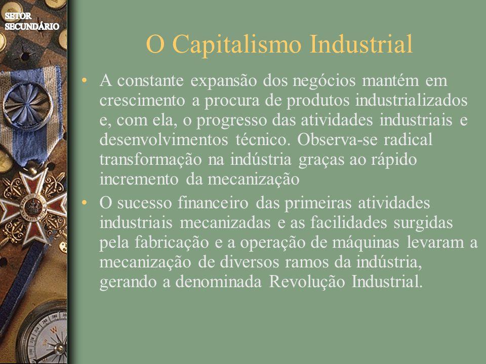 O Capitalismo Industrial