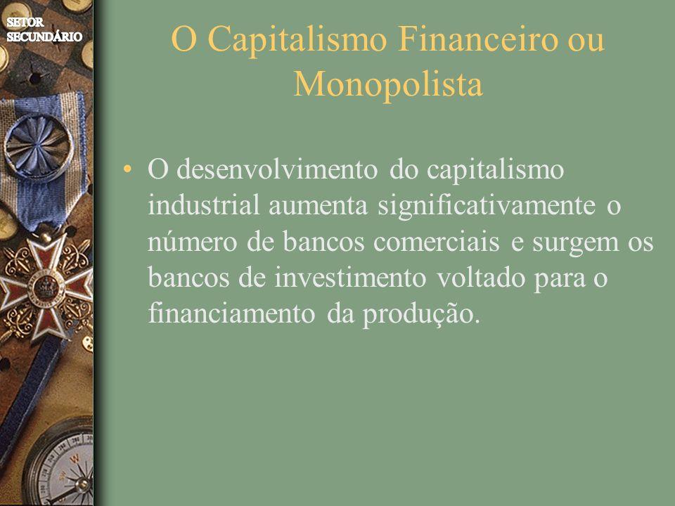O Capitalismo Financeiro ou Monopolista