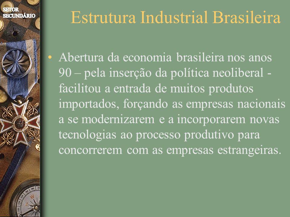 Estrutura Industrial Brasileira