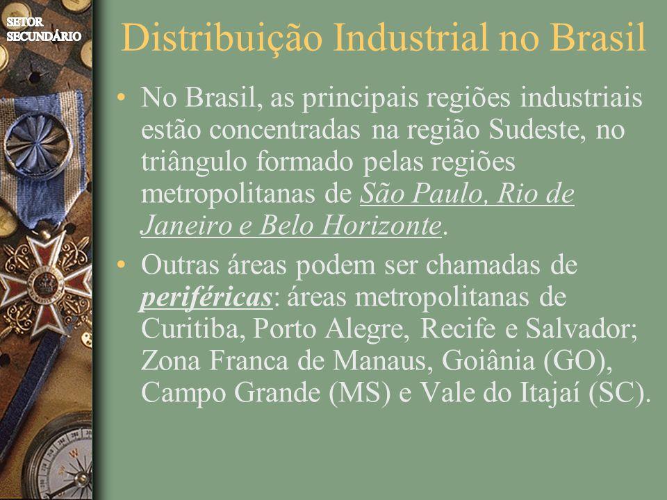 Distribuição Industrial no Brasil