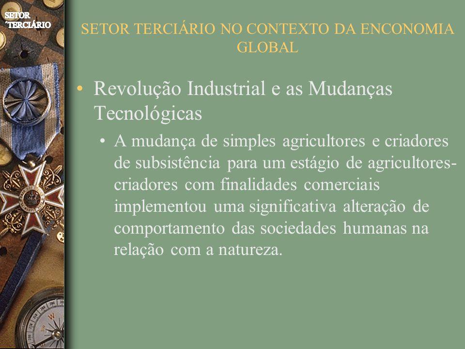 SETOR TERCIÁRIO NO CONTEXTO DA ENCONOMIA GLOBAL