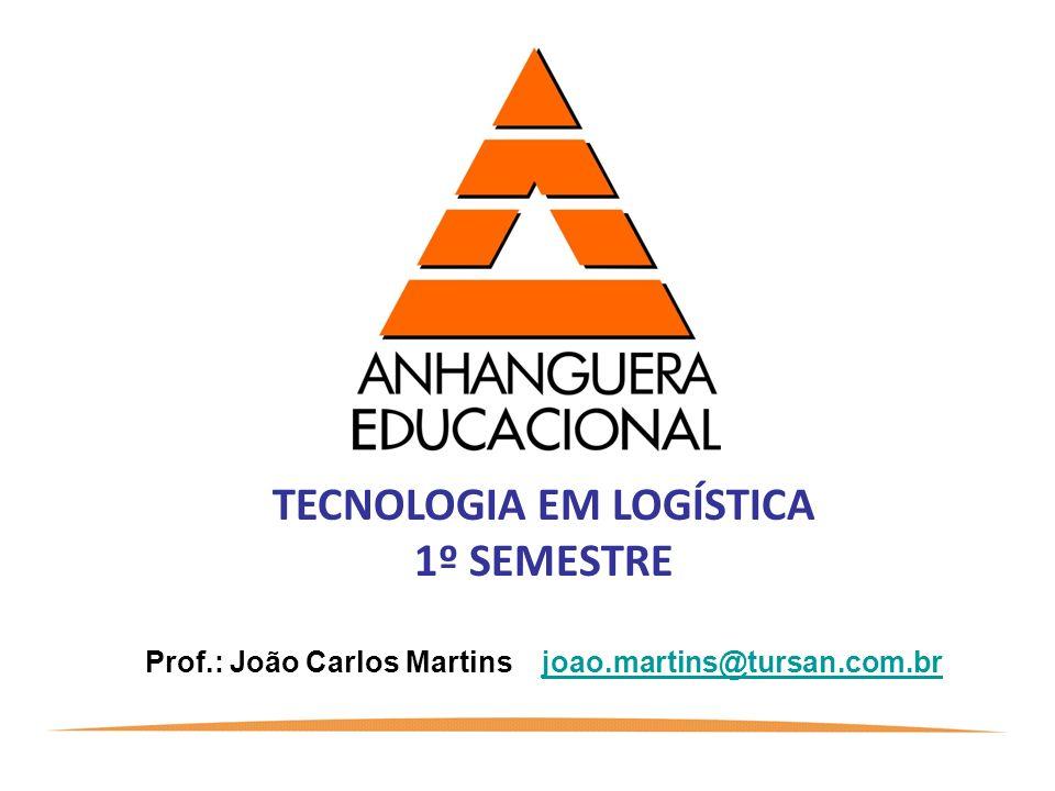 TECNOLOGIA EM LOGÍSTICA 1º SEMESTRE