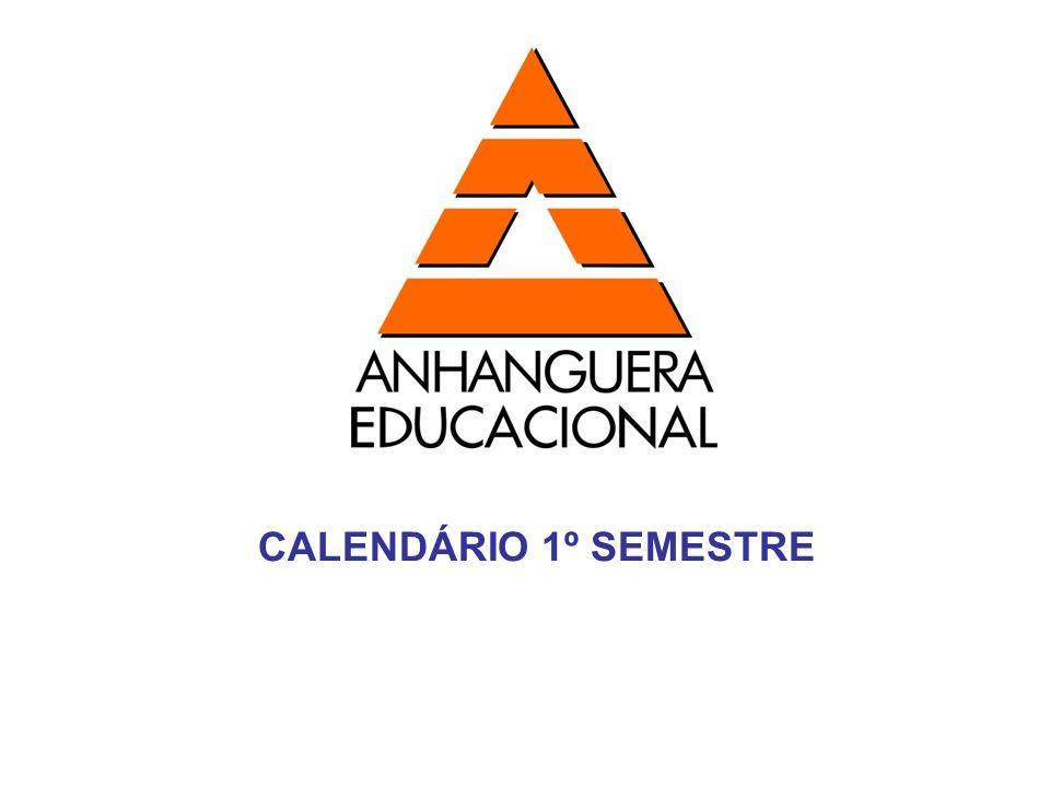 CALENDÁRIO 1º SEMESTRE