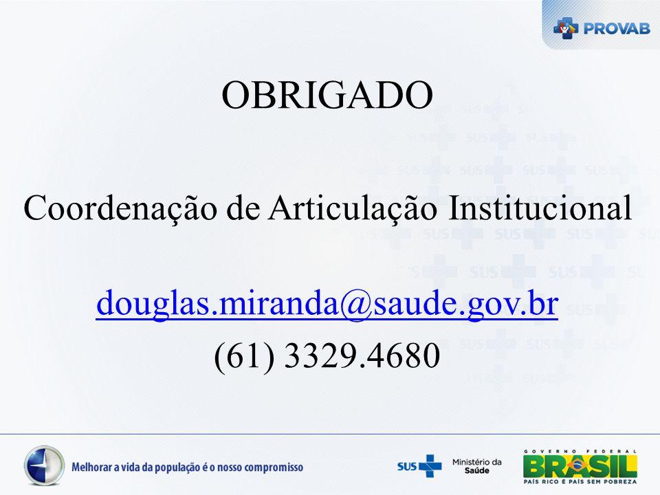 Coordenação de Articulação Institucional