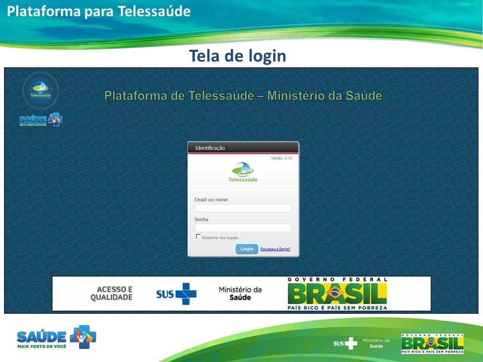 Plataforma para Telessaúde