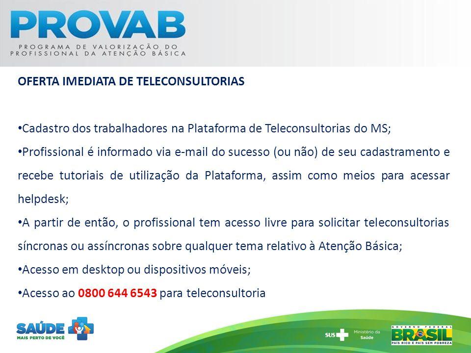 OFERTA IMEDIATA DE TELECONSULTORIAS