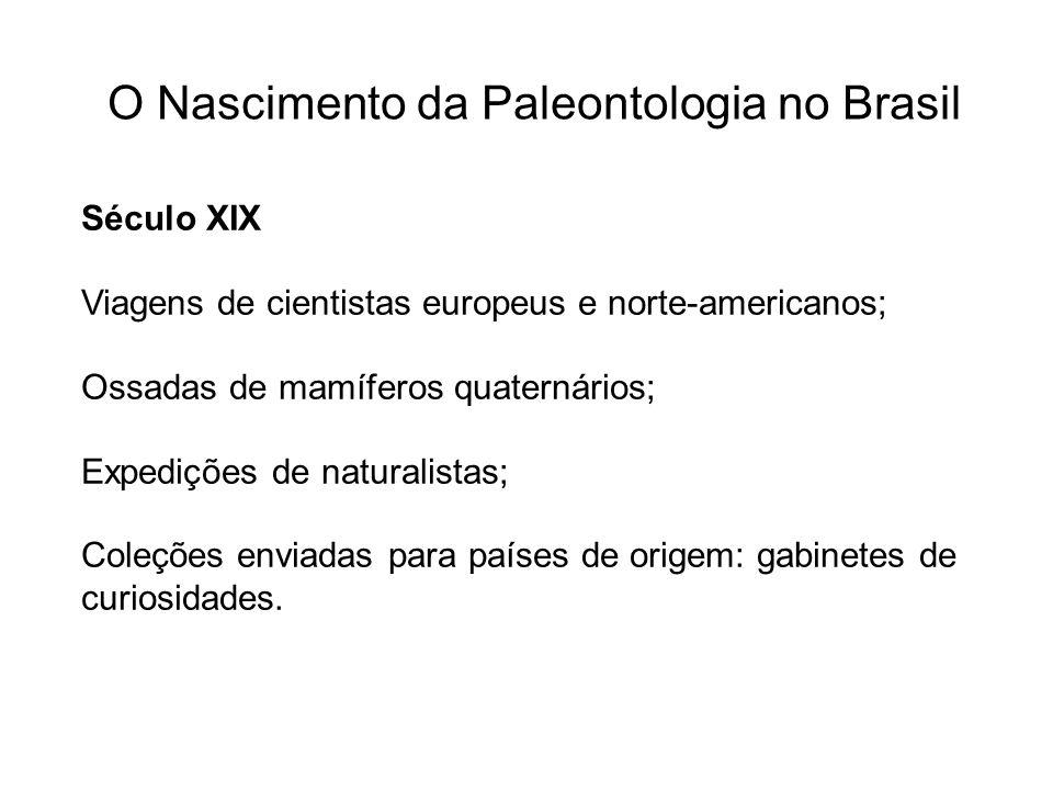 O Nascimento da Paleontologia no Brasil
