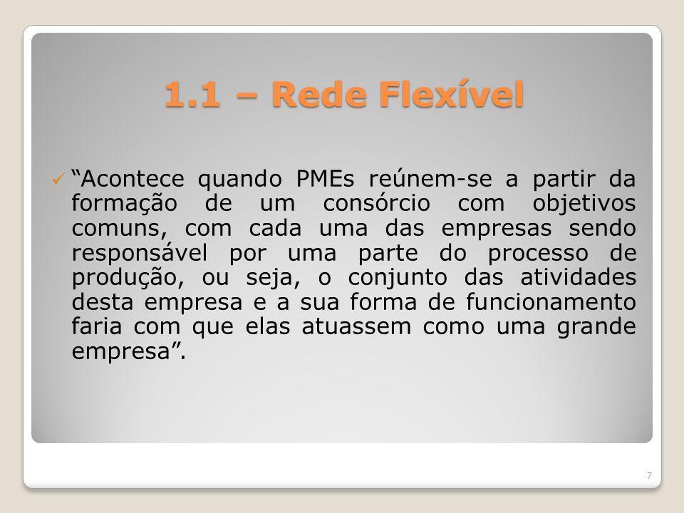 1.1 – Rede Flexível