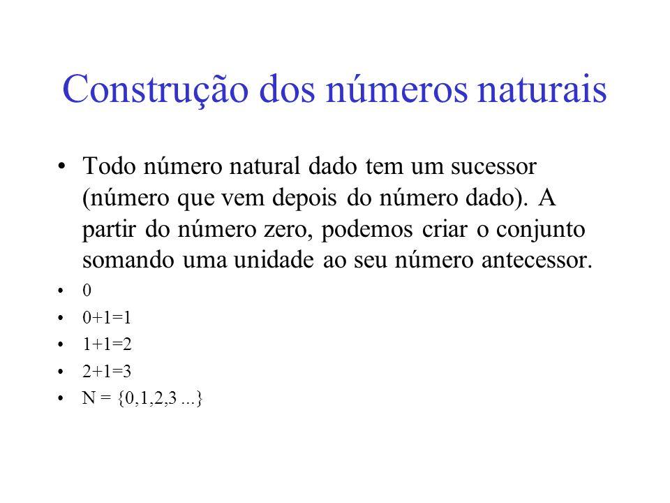 Construção dos números naturais