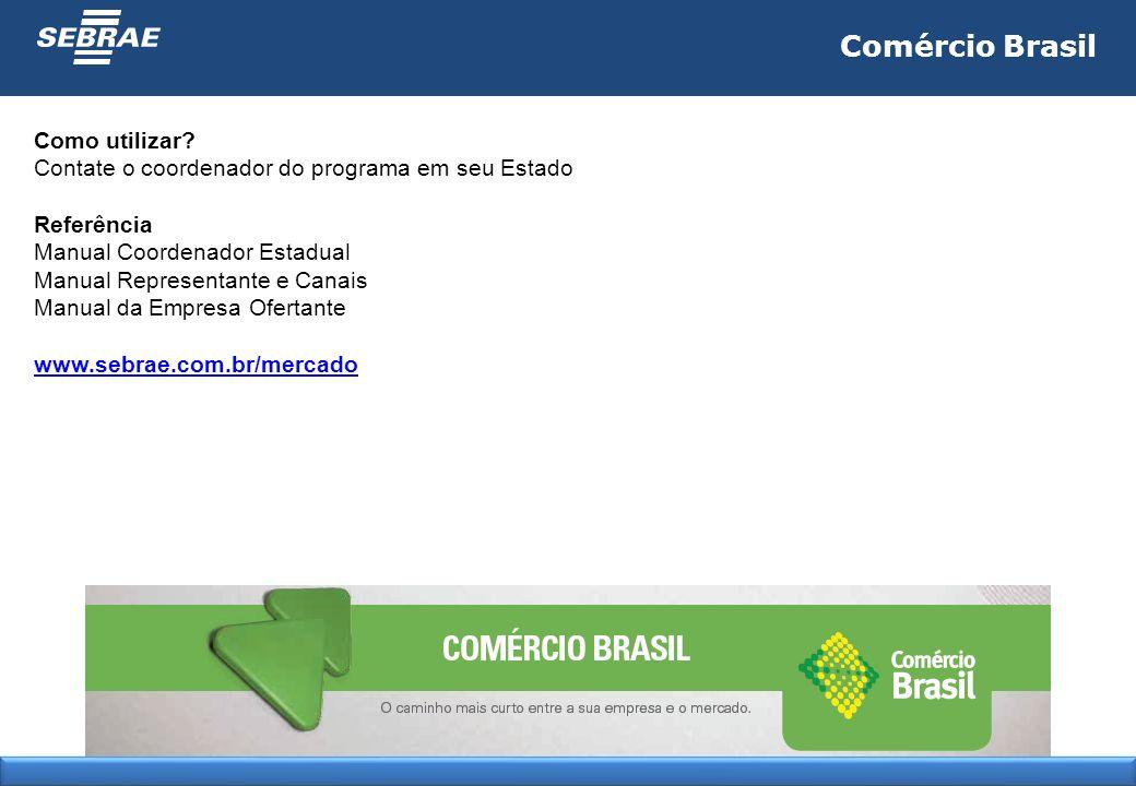 Comércio Brasil Como utilizar