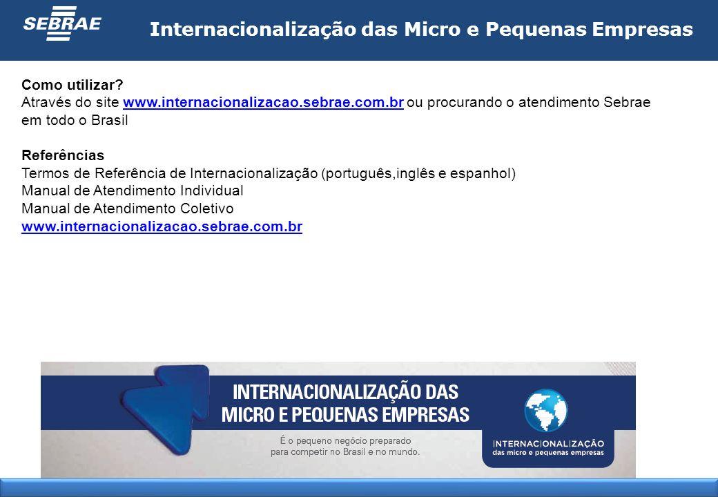 Internacionalização das Micro e Pequenas Empresas