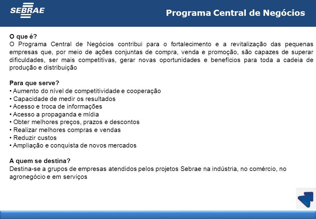 Programa Central de Negócios