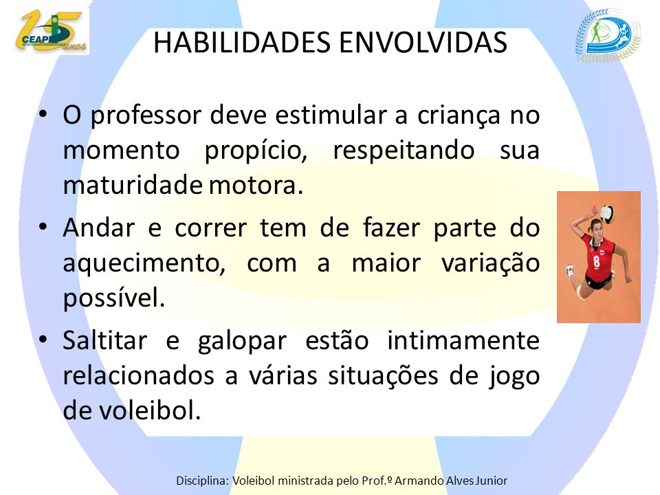 HABILIDADES ENVOLVIDAS