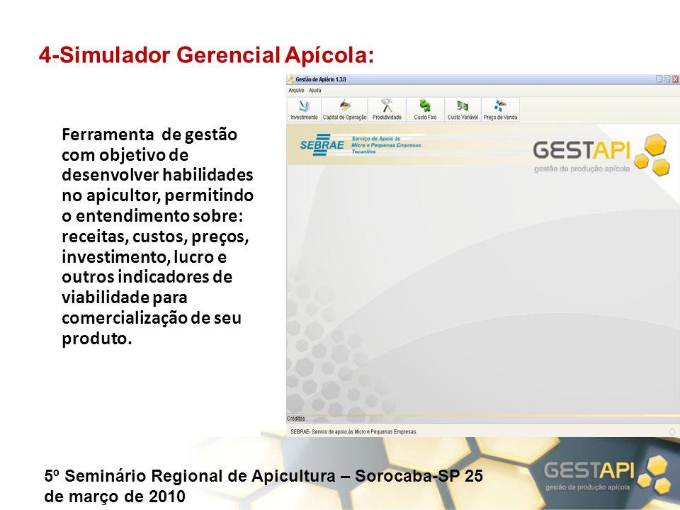 4-Simulador Gerencial Apícola: