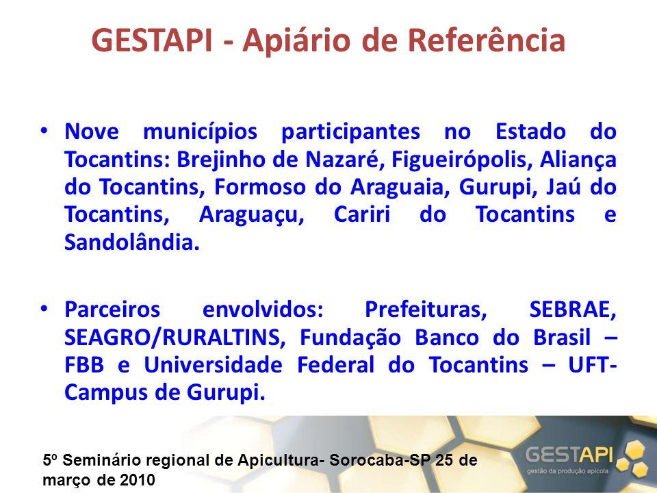 GESTAPI - Apiário de Referência