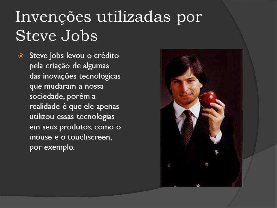 Invenções utilizadas por Steve Jobs