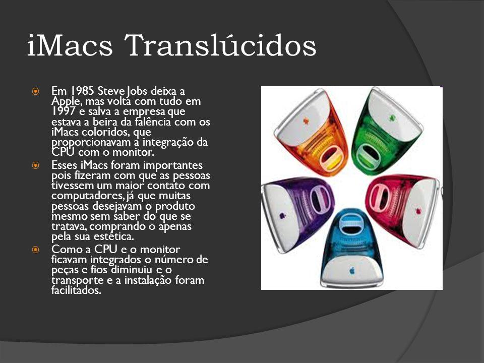 iMacs Translúcidos