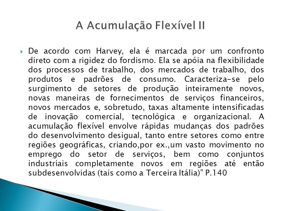 A Acumulação Flexível II