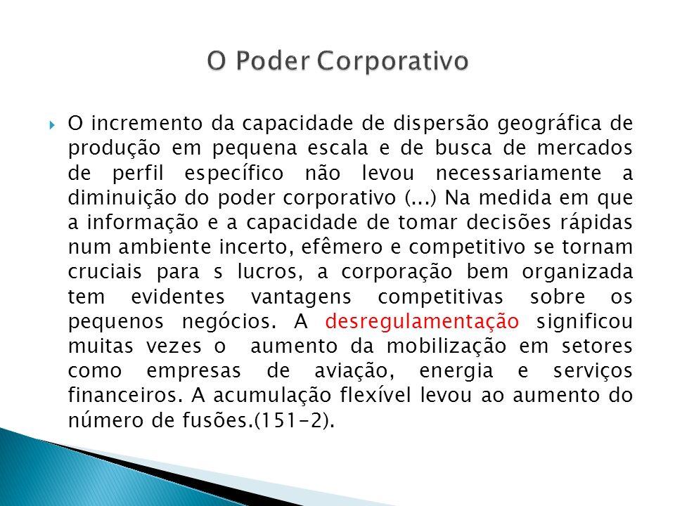 O Poder Corporativo