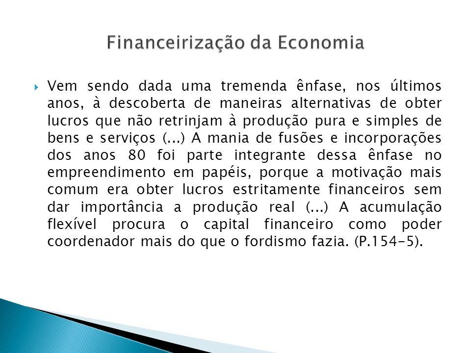 Financeirização da Economia