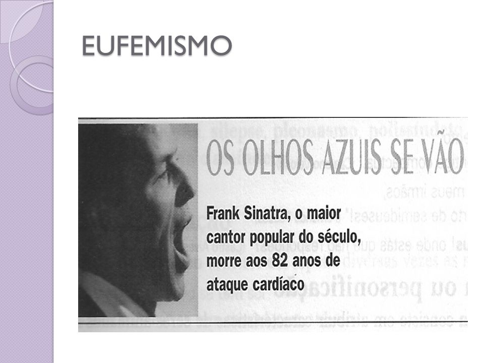 EUFEMISMO