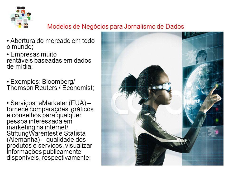 Modelos de Negócios para Jornalismo de Dados