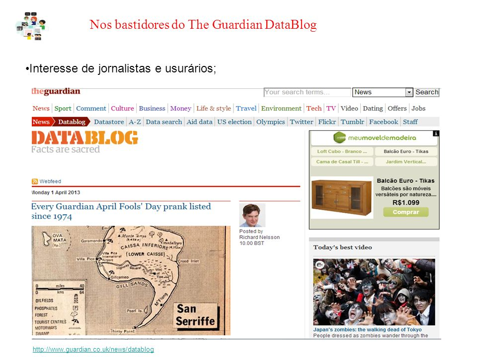 Nos bastidores do The Guardian DataBlog