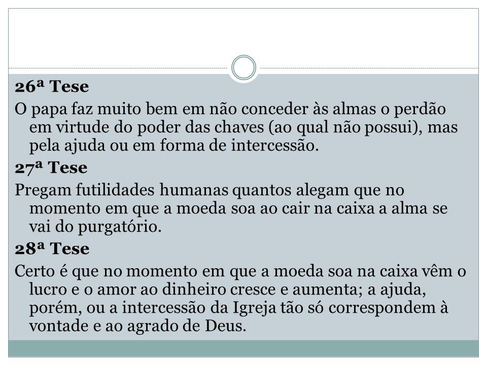 26ª Tese