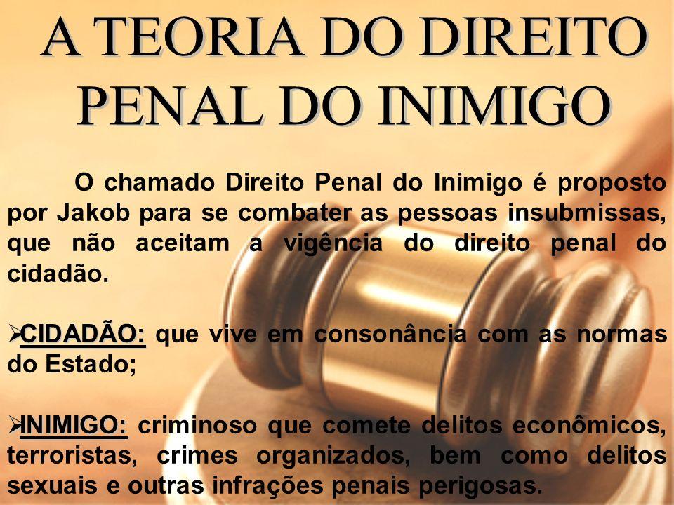 A TEORIA DO DIREITO PENAL DO INIMIGO